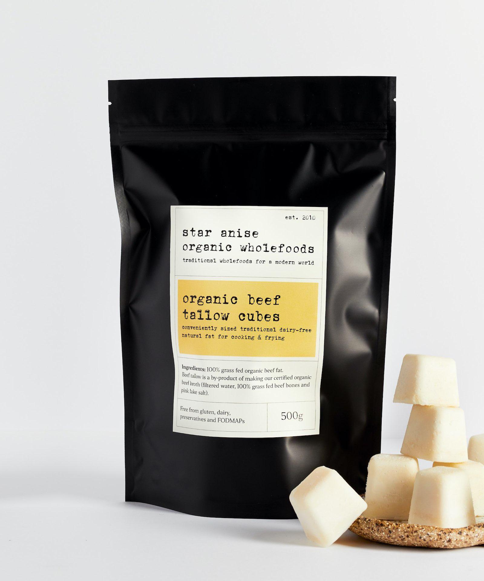 Star Anise Organics packaging design