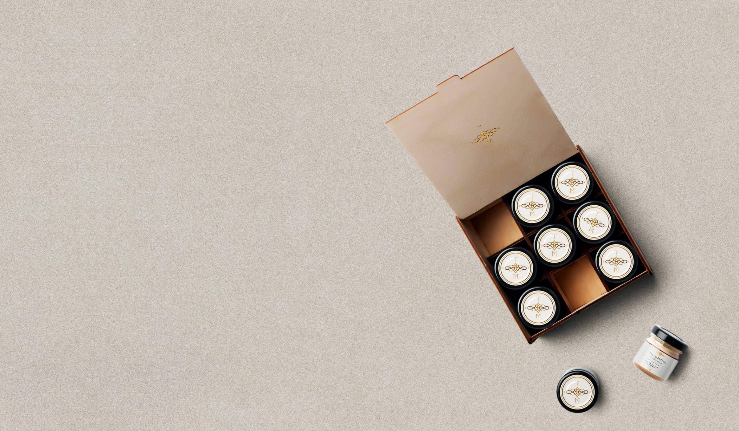 Tracey McLean packaging design