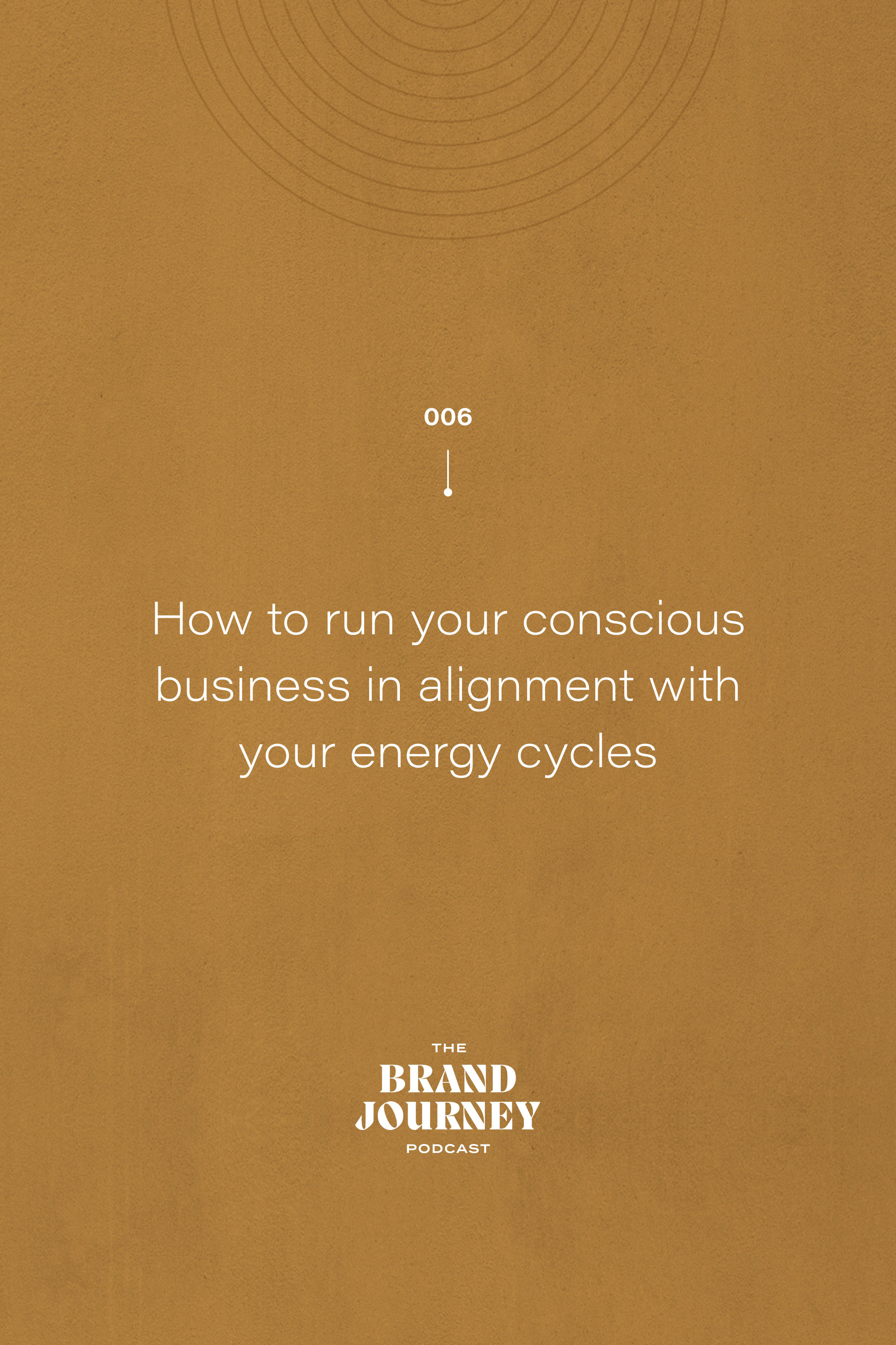 How to run your conscious business in alignment with your energy cycles