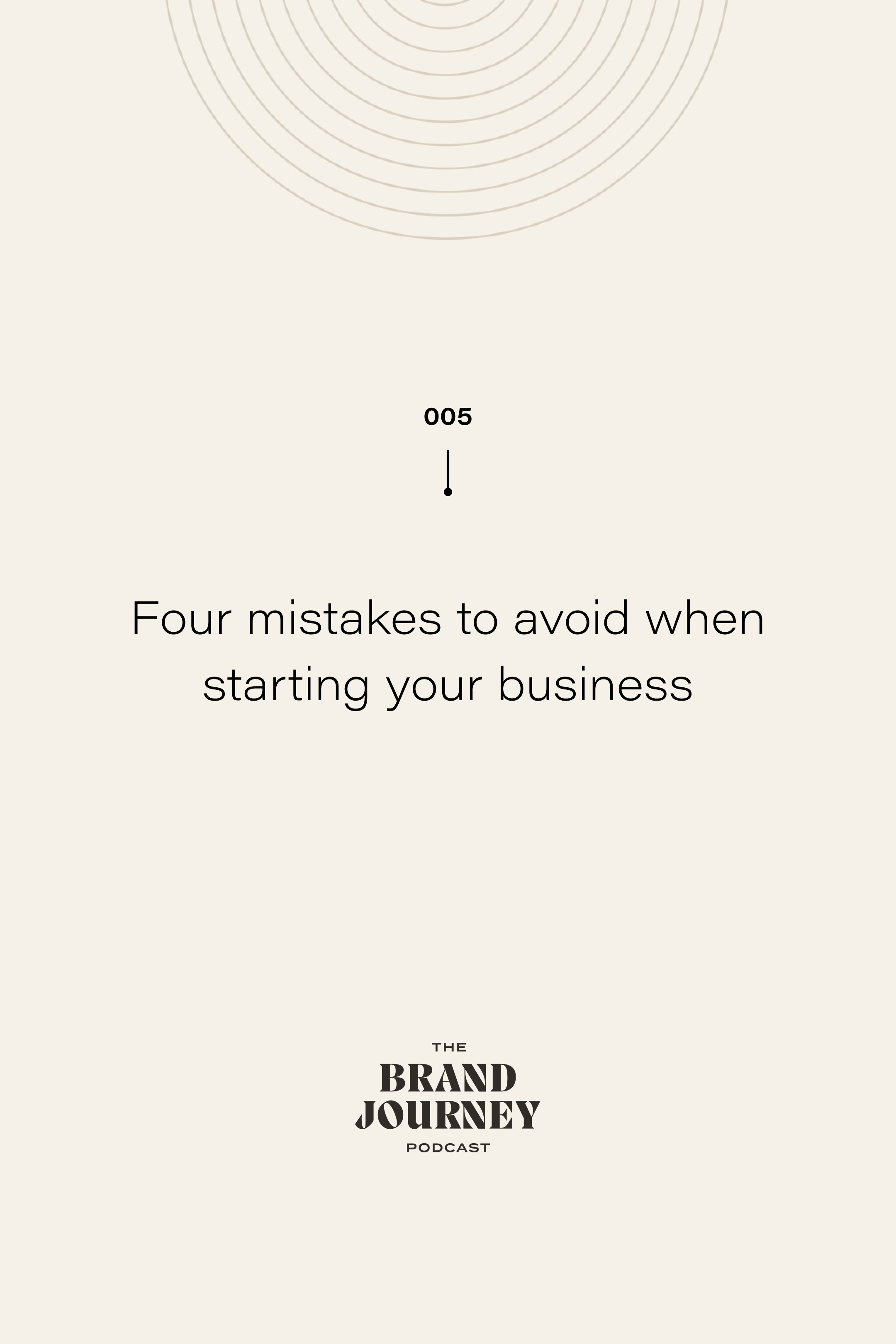 Four mistakes to avoid when starting your business