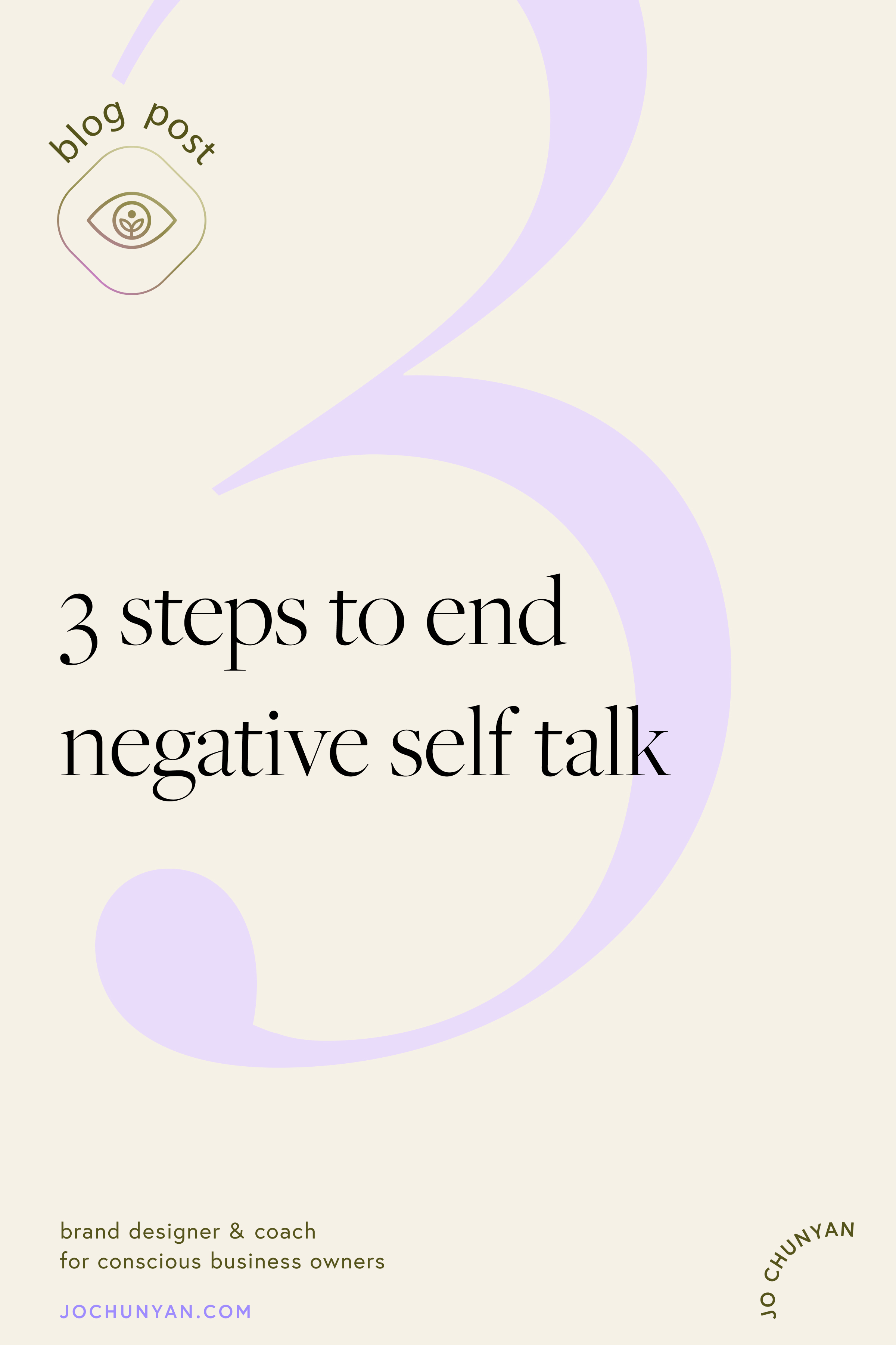 3 steps to end negative self talk