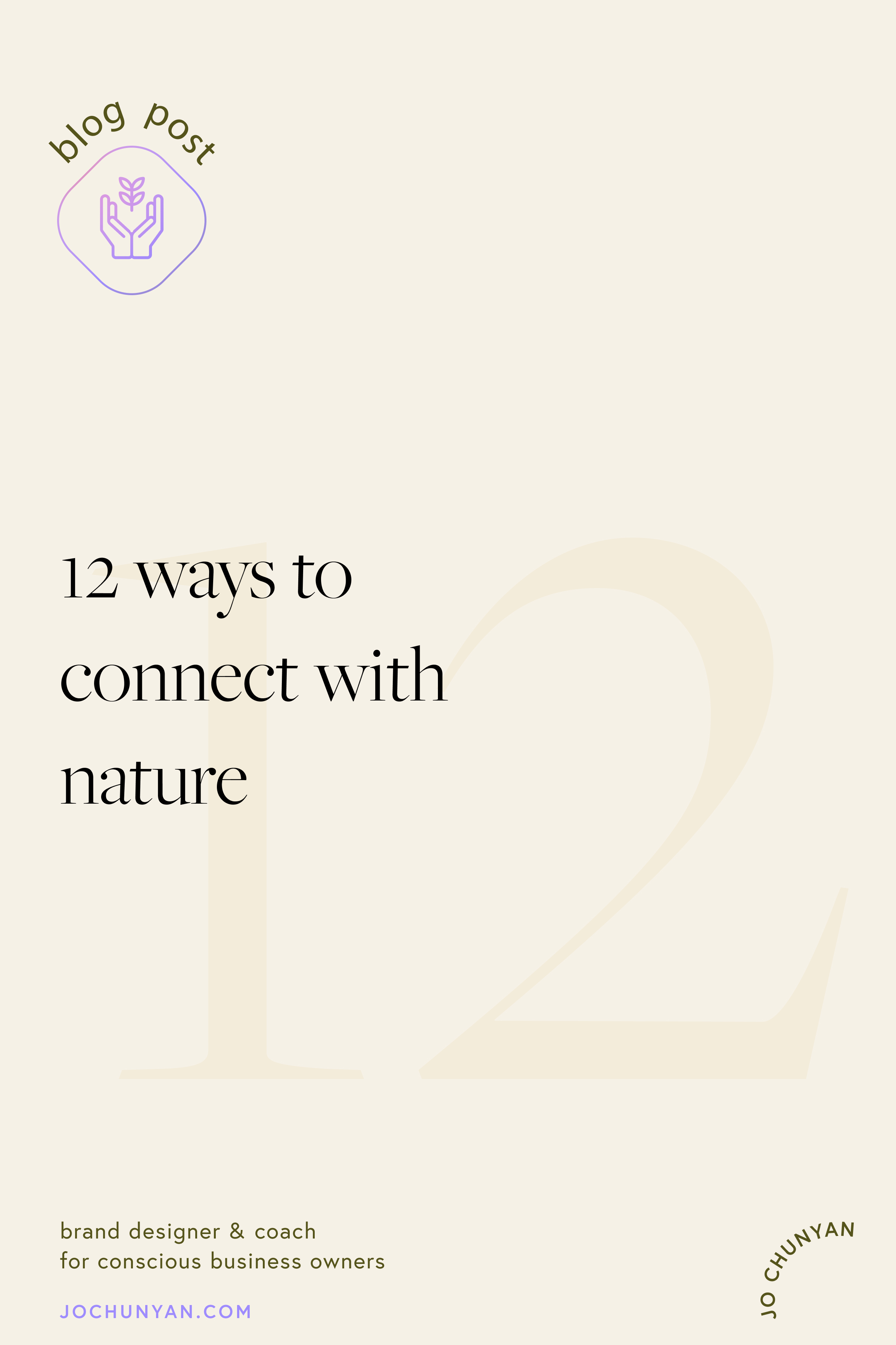 12 ways to connect with nature