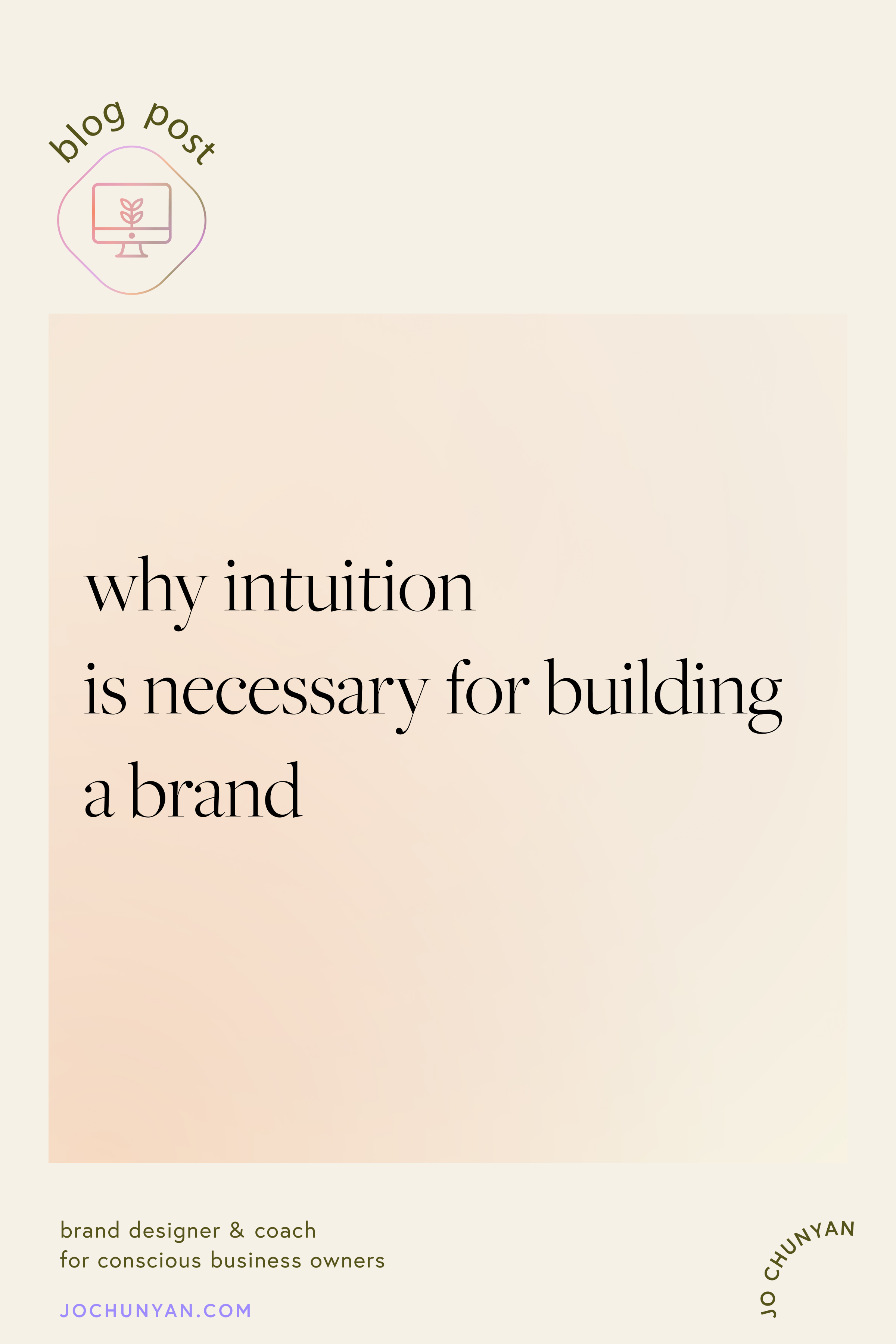 Why intuition is necessary for building a brand