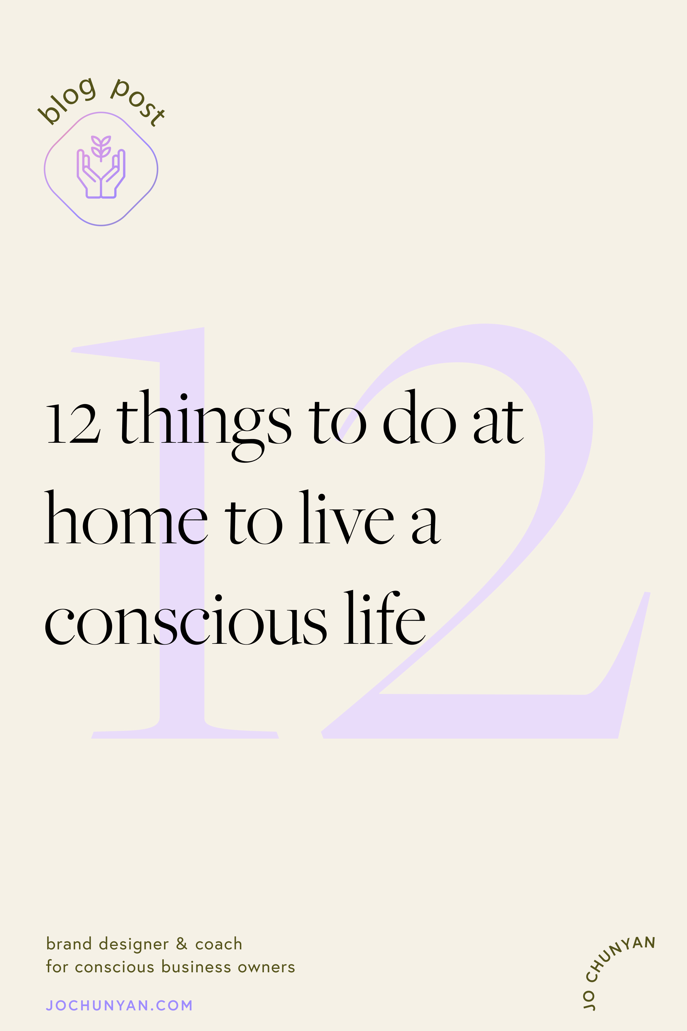 12 things to do at home to live a conscious life