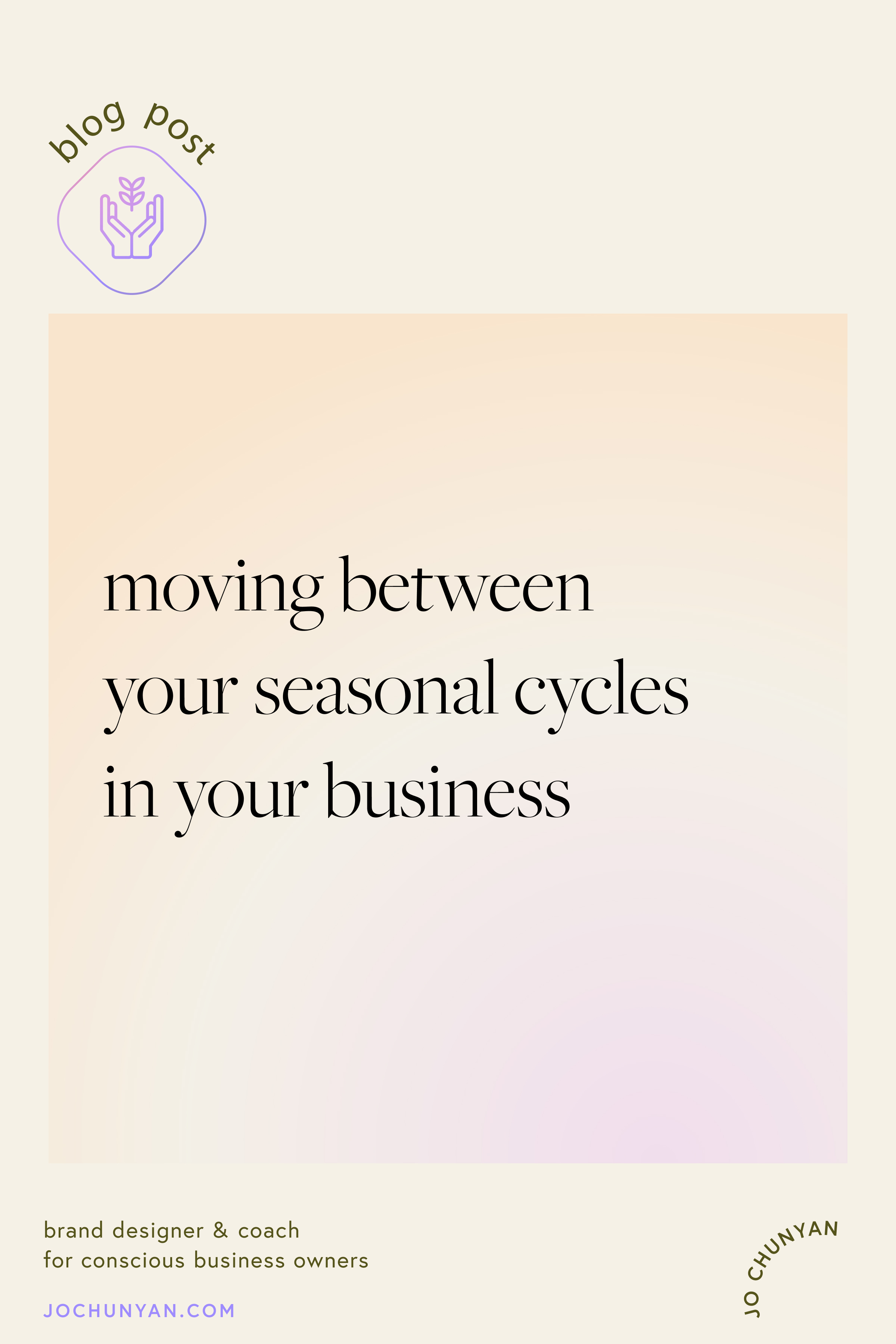 Understanding your natural seasonal cycle in business and life
