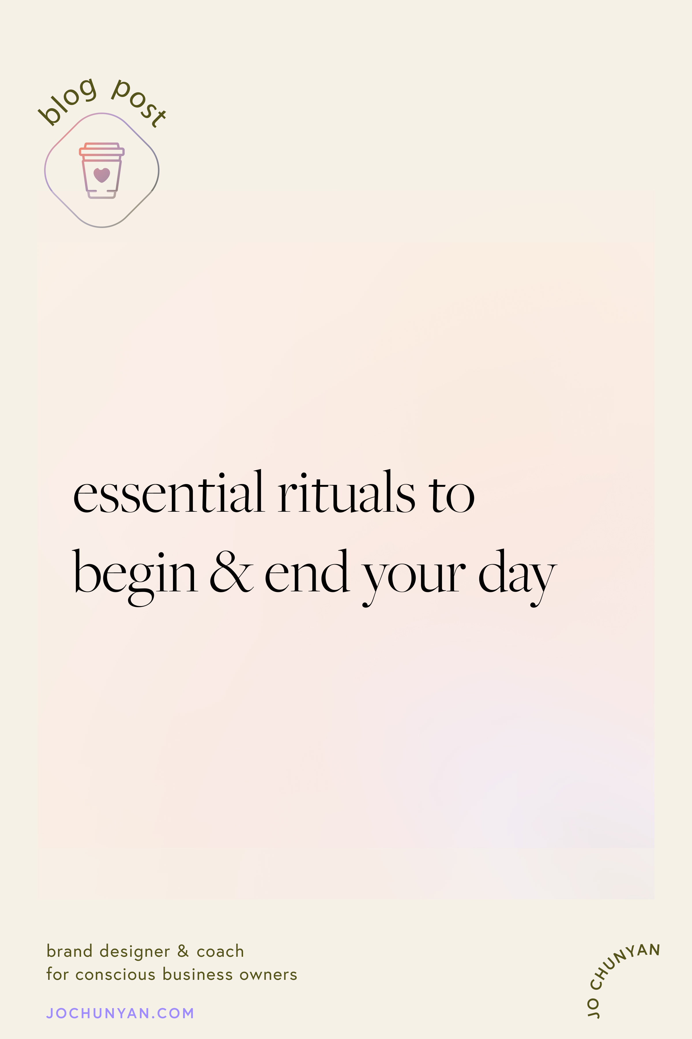 Essential rituals to begin and end your day