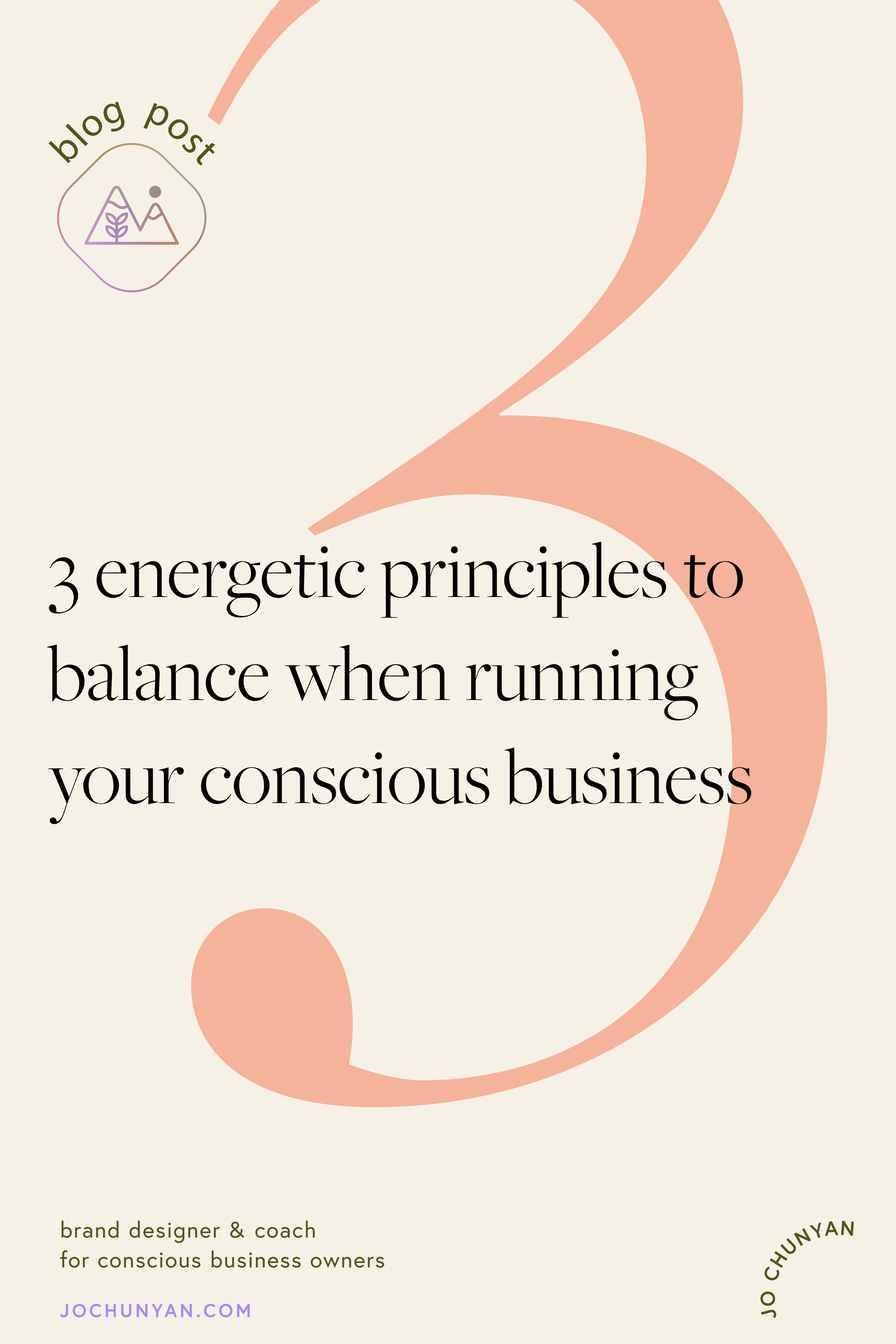 3 energetic principles for running a conscious business