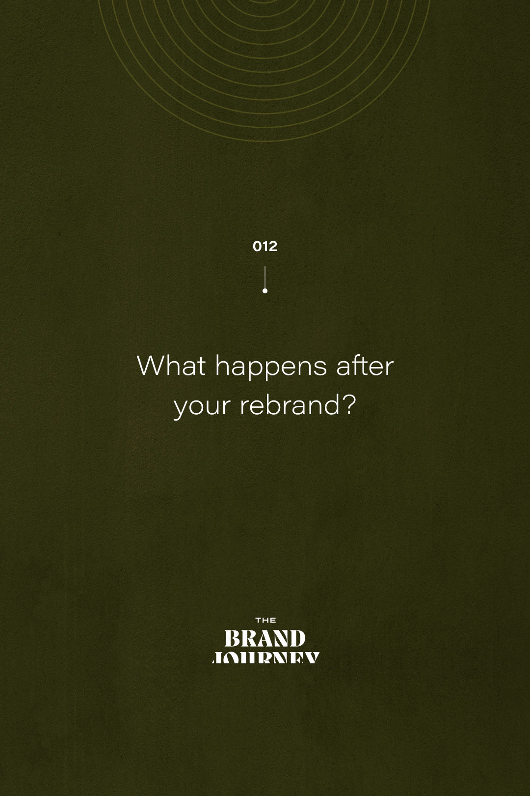 What happens after your rebrand?