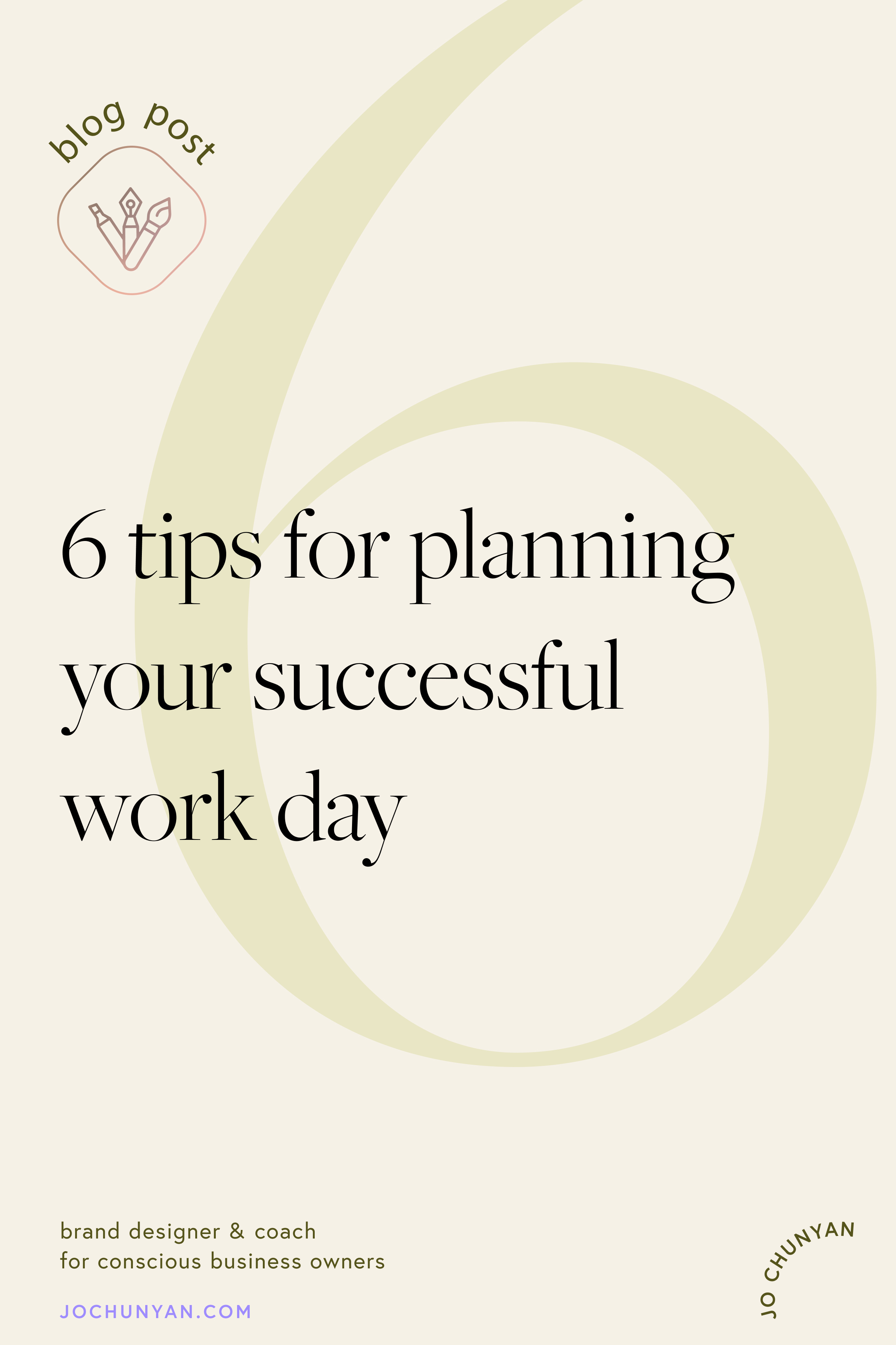 6 tips for planning your successful work day