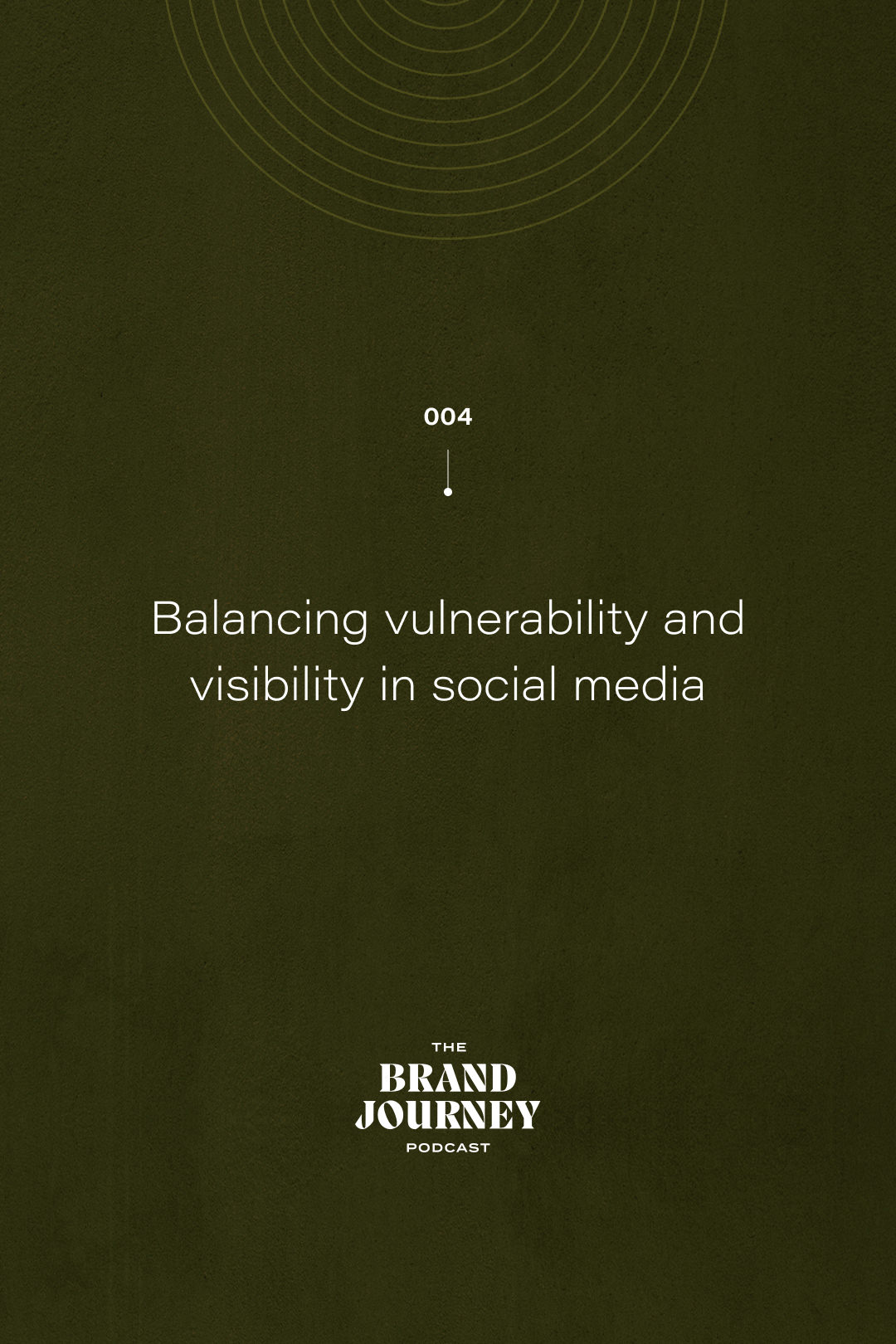 Balancing vulnerability and visibility in social media