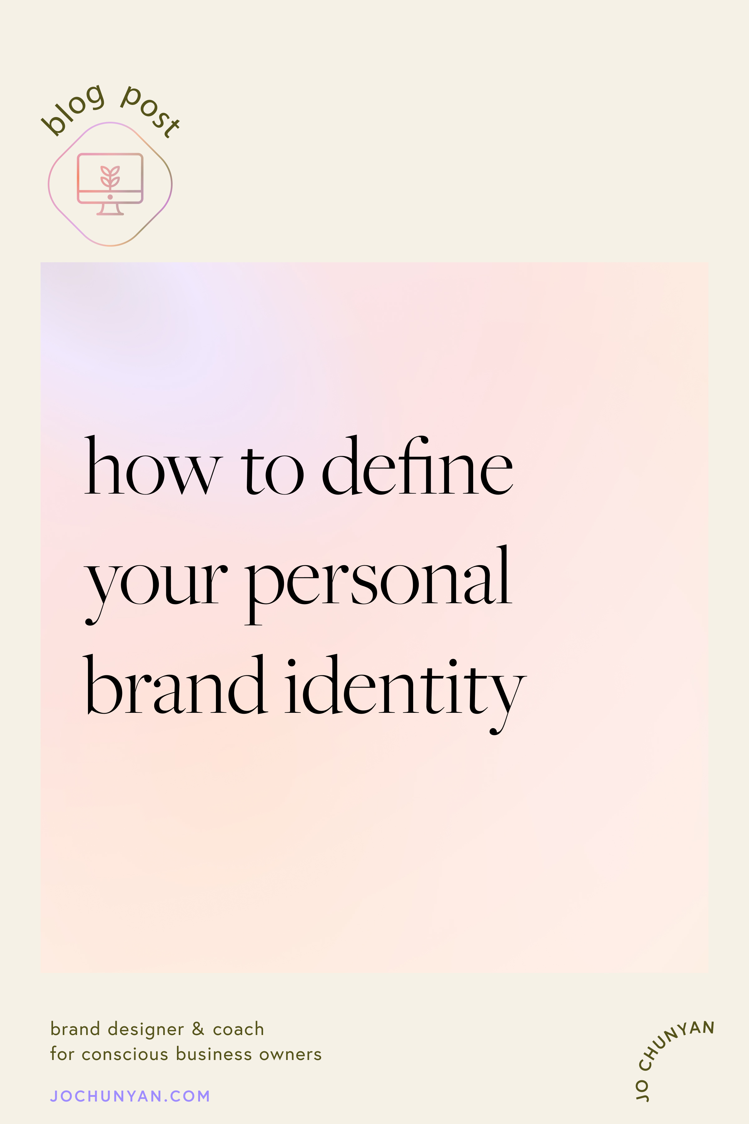 How to define your personal brand identity