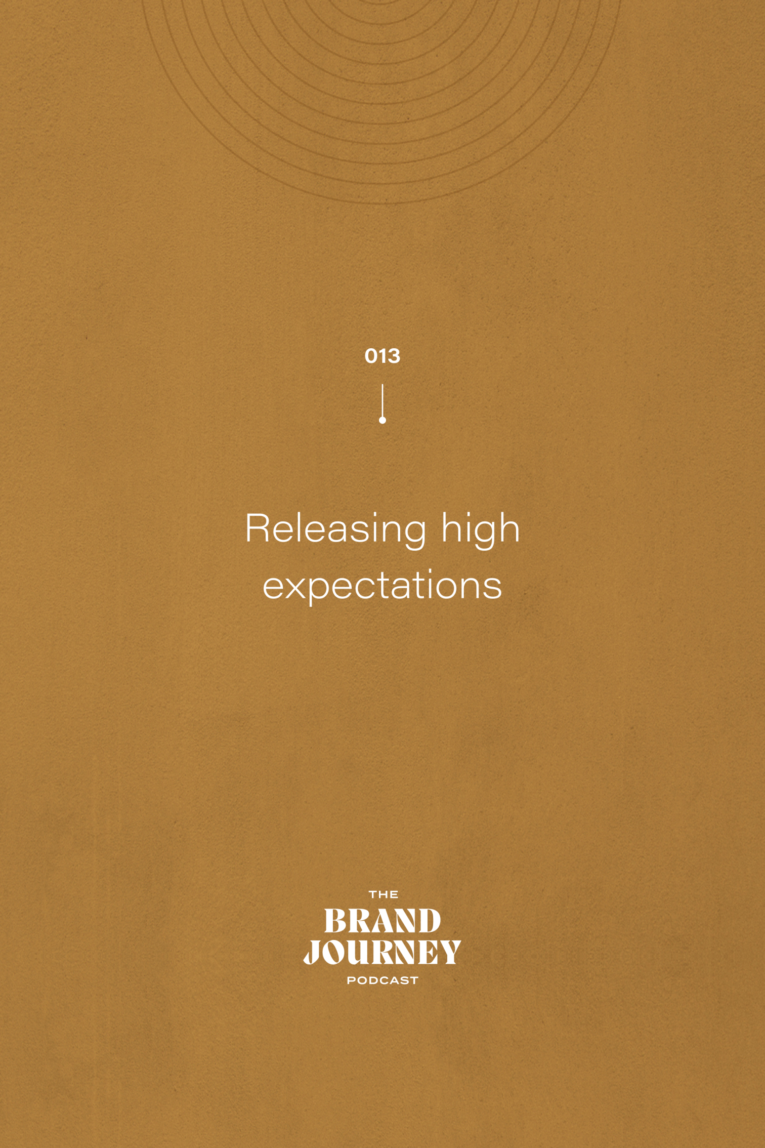 Releasing high expectations