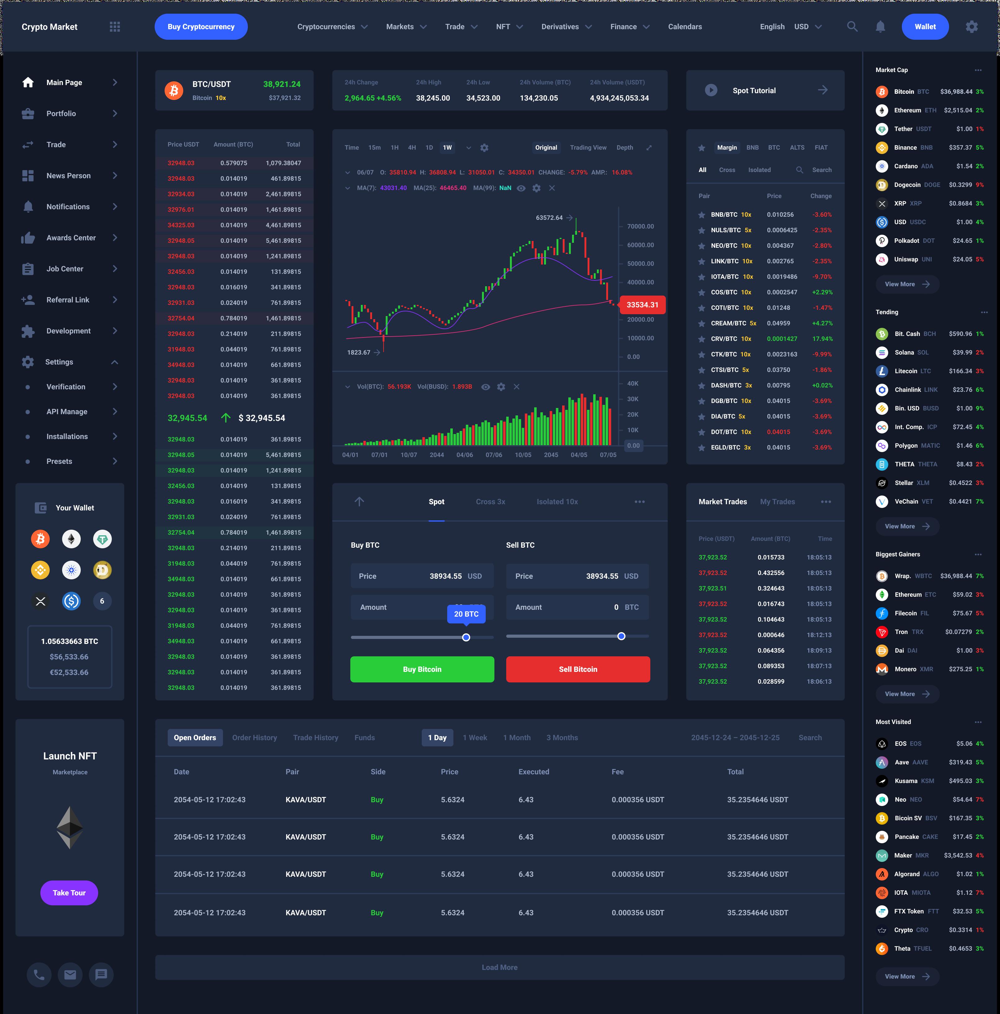 Trade Dashboard Download