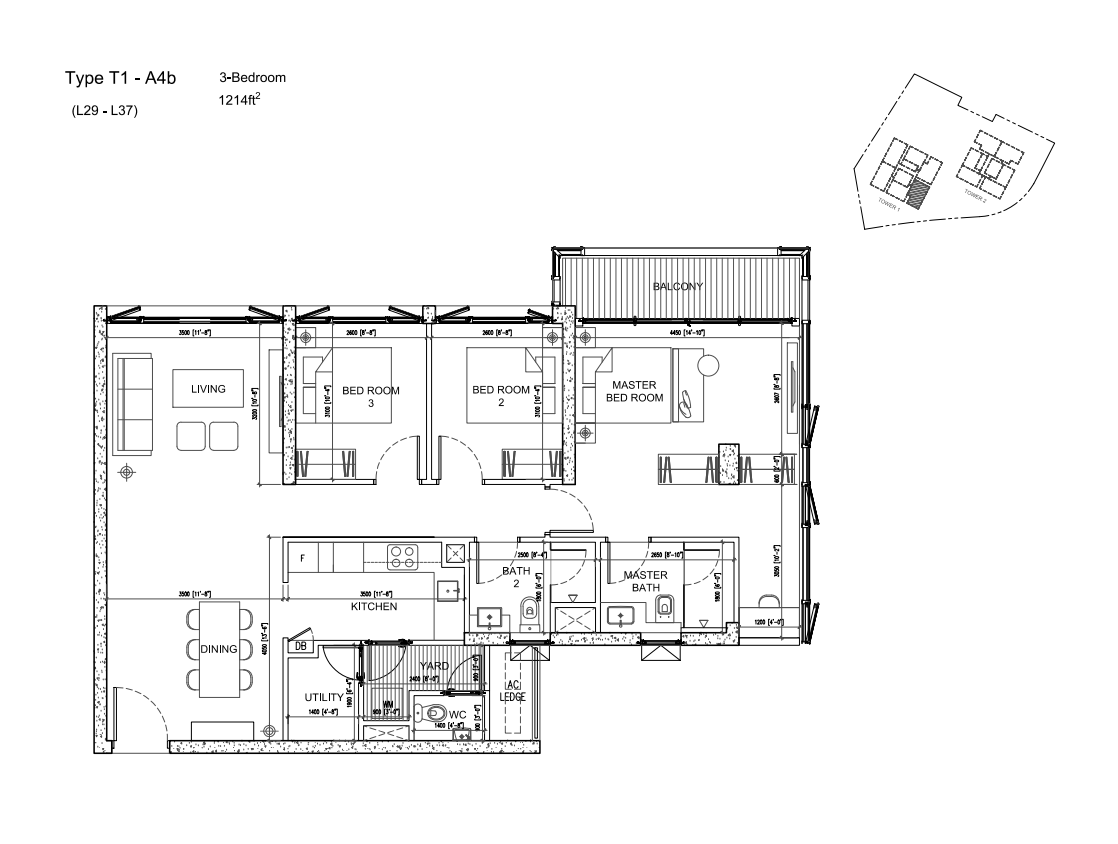 Capitol TwinPeaks floor plans