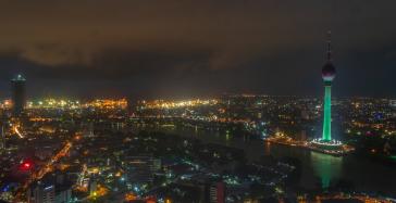 Night Sky of Colombo
