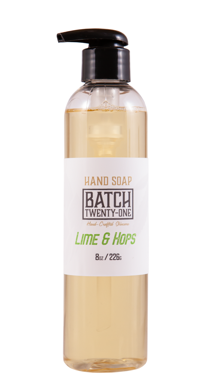 Lime & Hops Hand Soap
