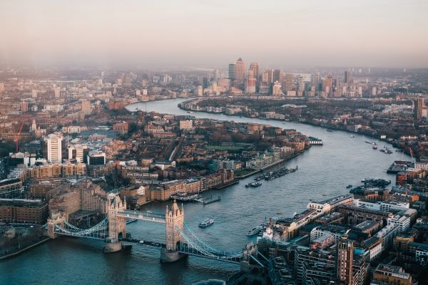 Photo of London from the air