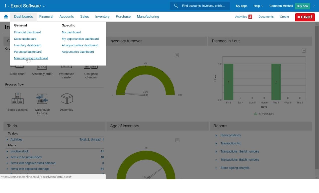 Exact-Software-Screenshot