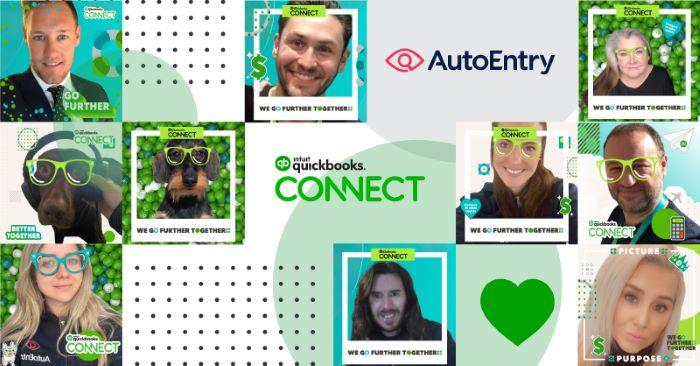 Photos of AutoEntry staff at QBC online event