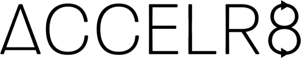 Logo design accelr8
