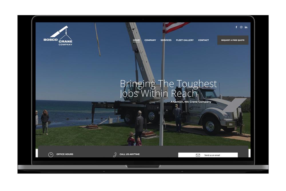 Bosco Crane Company Marketing