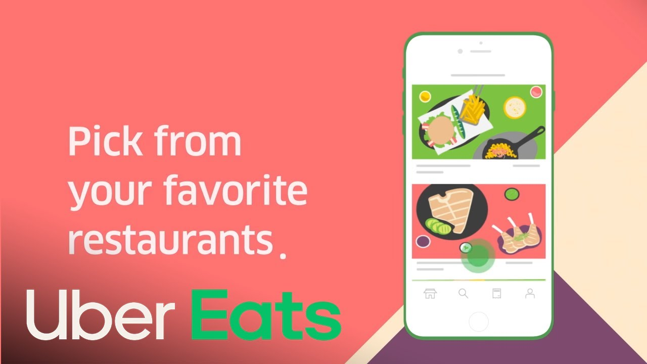 Uber Eats allows you to get delivery from your favorite restaurants.