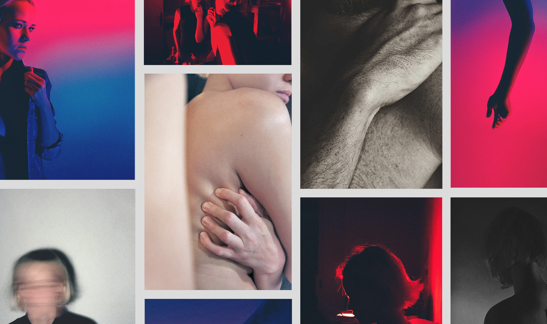 """Compilation of photographs taken for the project """"Closer in Lockdown"""""""