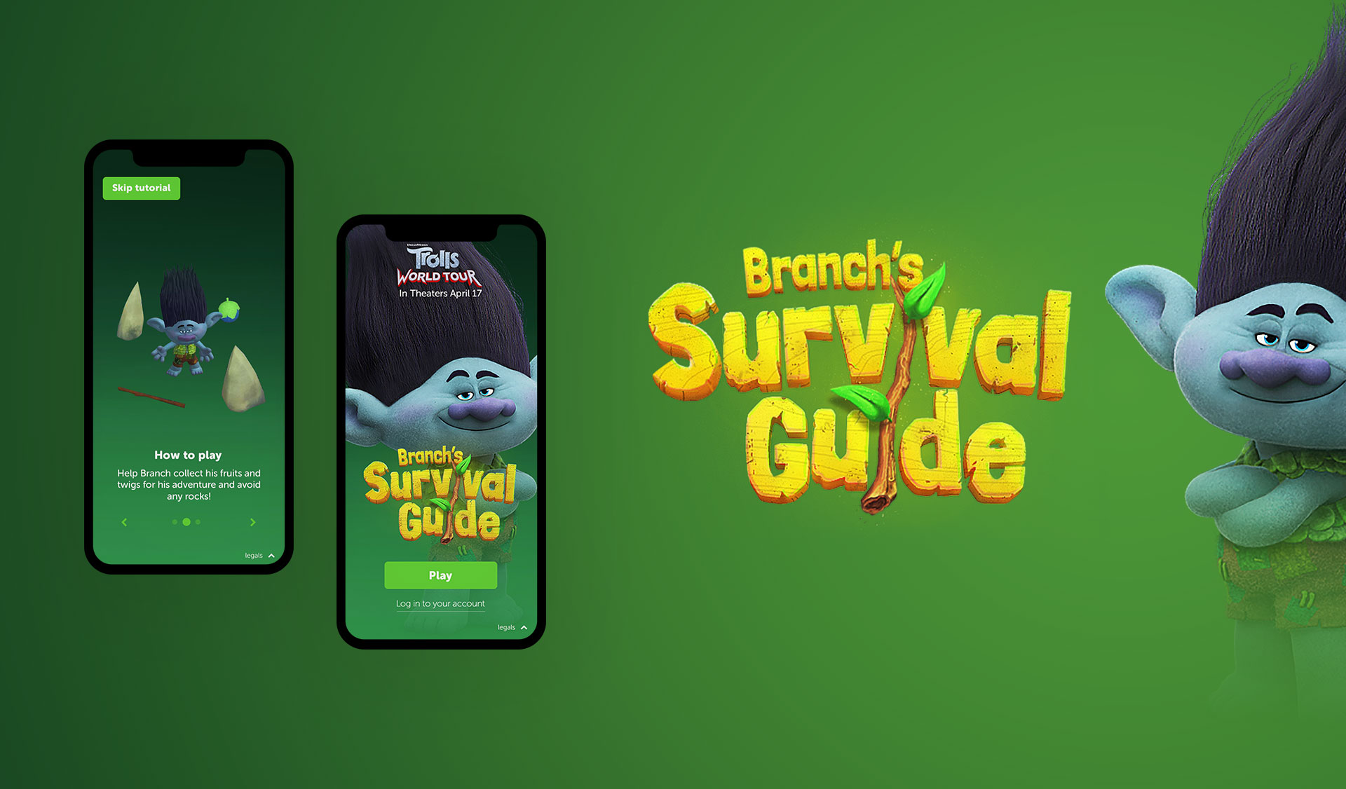 Branch title design and branding