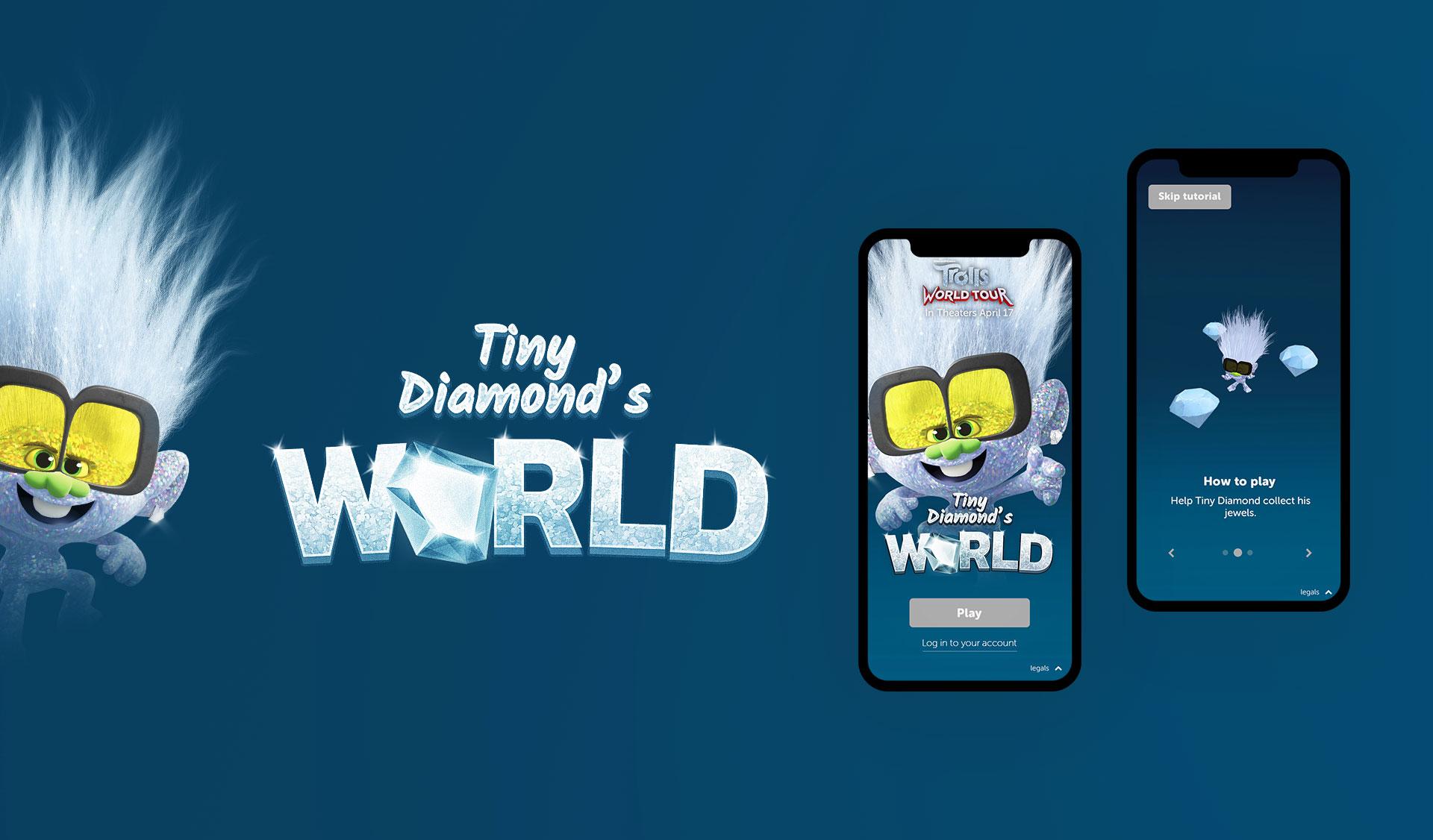 Little Diamond title design and branding
