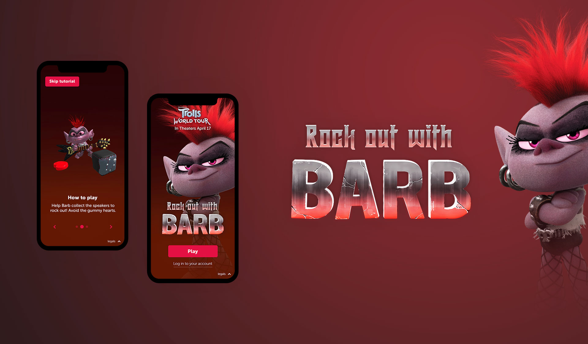 Barb title design and branding