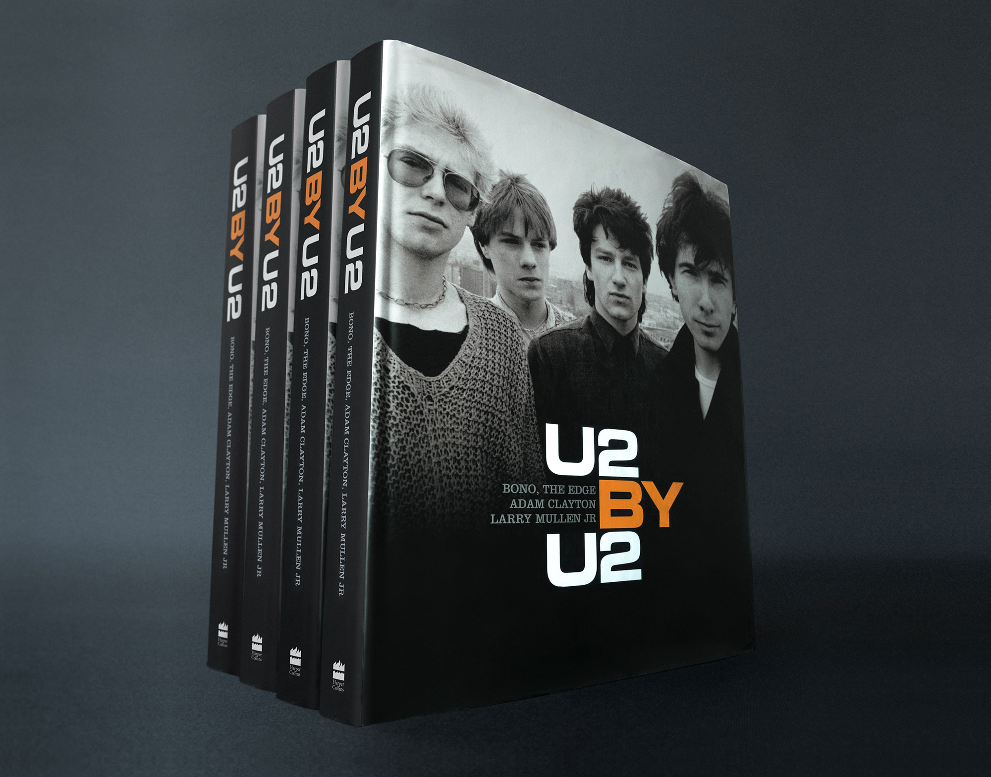 U2 by U2 Book Cover Design Coffee Table Book  Music U2 Graphic Design Editorial Harper Collins Publishing London