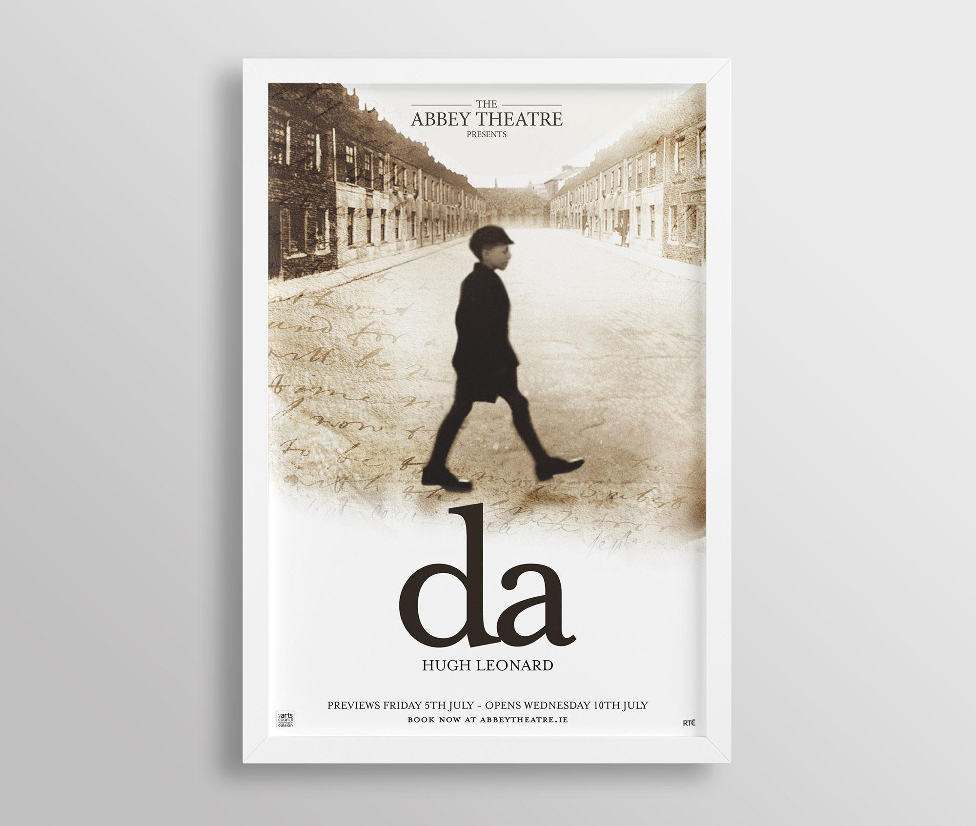 Theatre Poster Design London Dublin 01