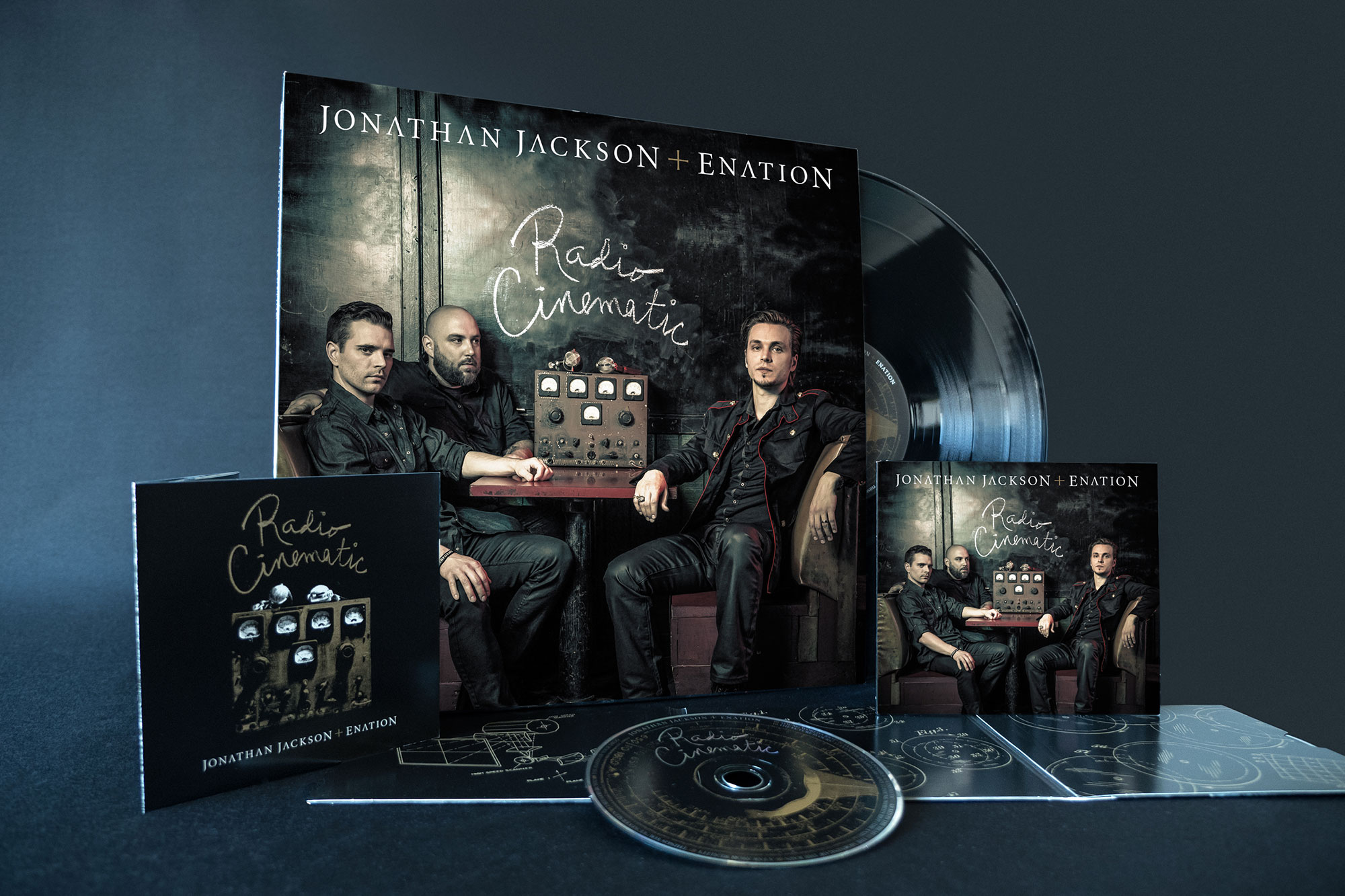 Jonathan Jackson Enation Cover Design