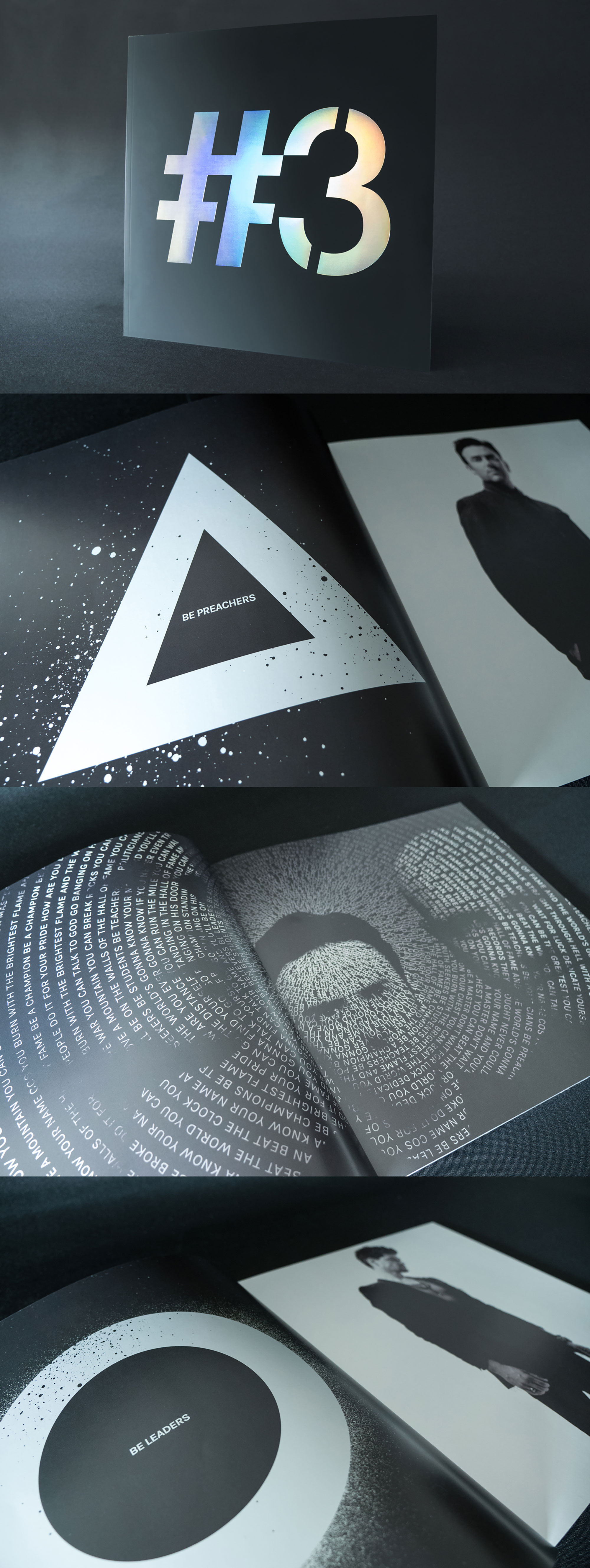 The Script Tour Book Design Dublin London