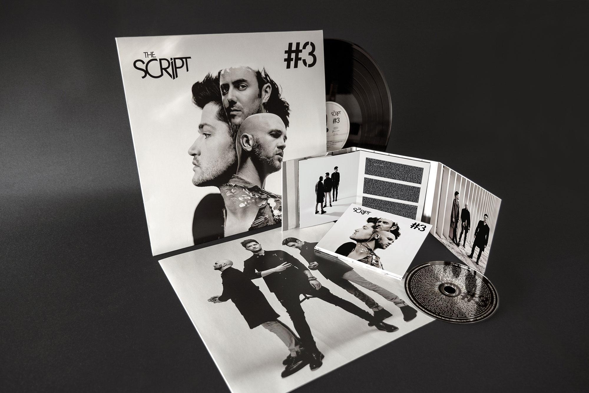 The Script #3 Album Design Dublin London