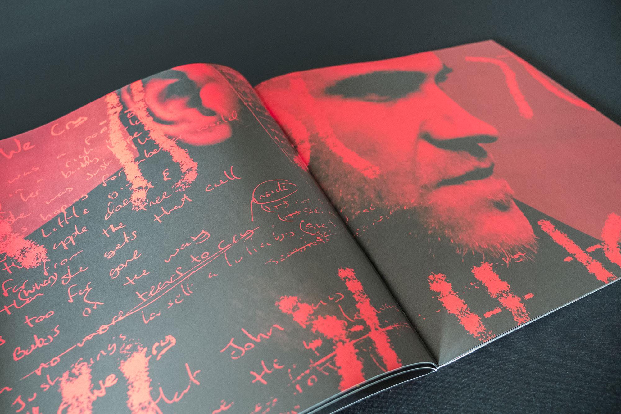 The Script Tour Book Design Dublin London 02