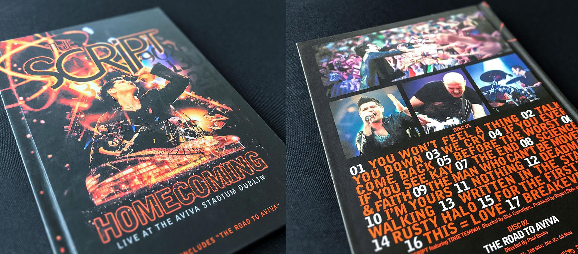 The Scrip DVD Aviva Design Vinyl Dublin London