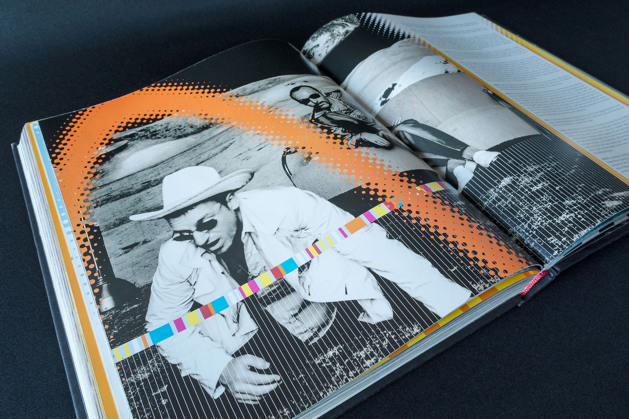 U2 by U2 Book Spread Graphic Design London Dublin 02