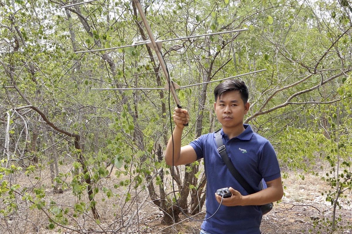 Radio tracking in Myanmar