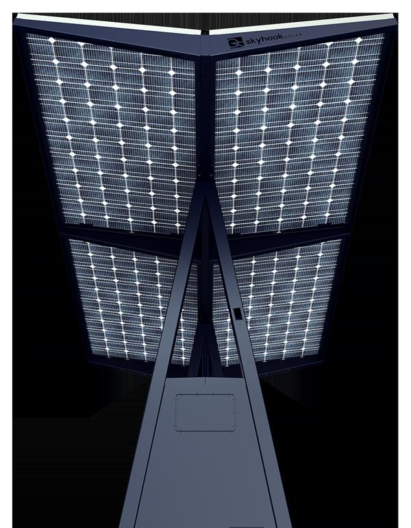 D4 Skyhook Solar Station panels