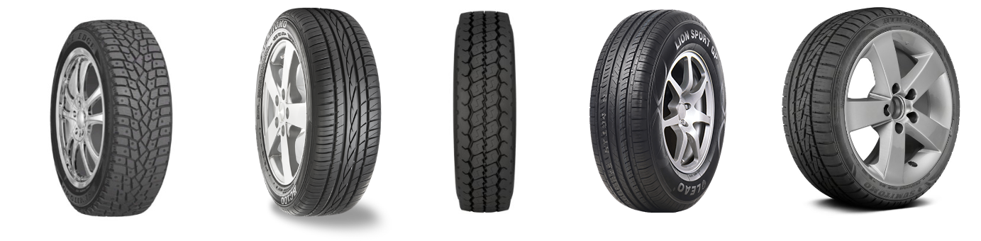 group of tires
