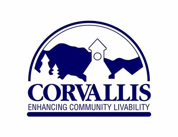 The City of Corvallis logo.