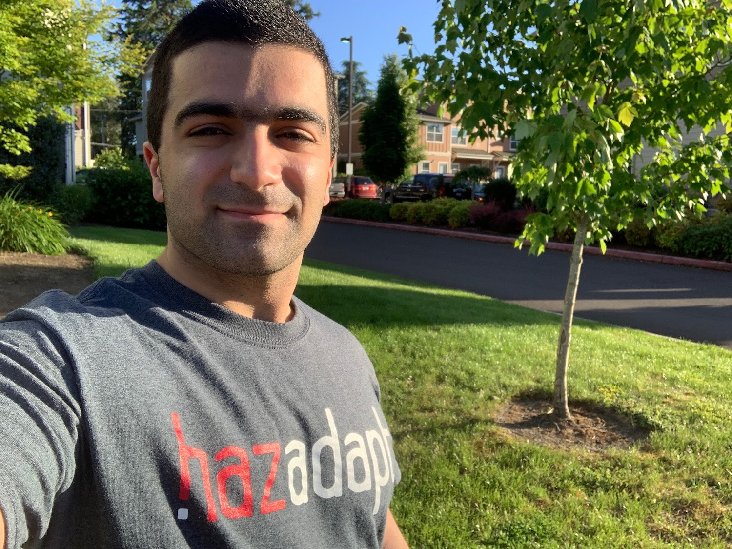 HazAdapt's co-founder and COO Omeed.