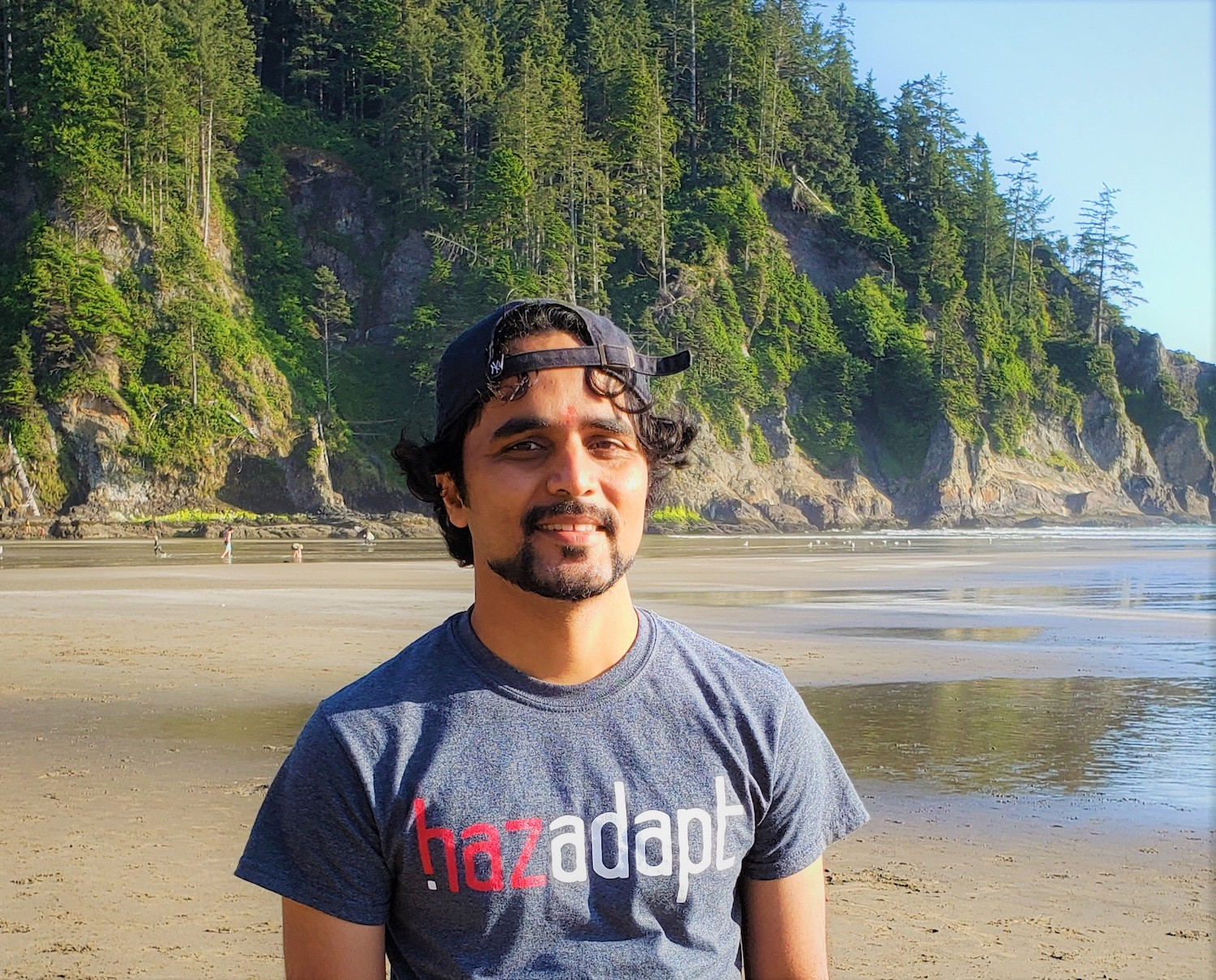 HazAdapt's co-founder and chief software engineer Uday.