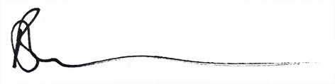 Bron Thomson's signature.