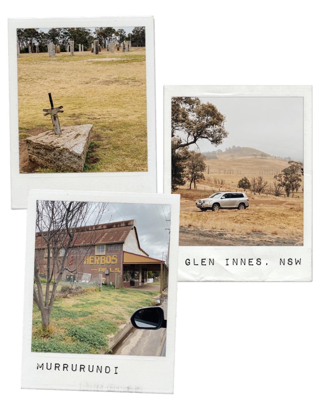 Australian Standing Stones, Glen Innes and Murrurundi