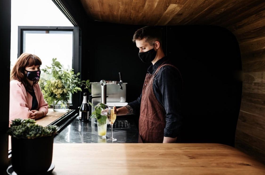 Travis Yarra Valley Guide - Serving Drinks at Napoleone Cider