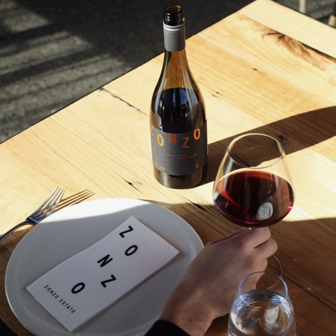 Travis Yarra Valley Guide - Have a Bottle of Wine at Zonzo Estate