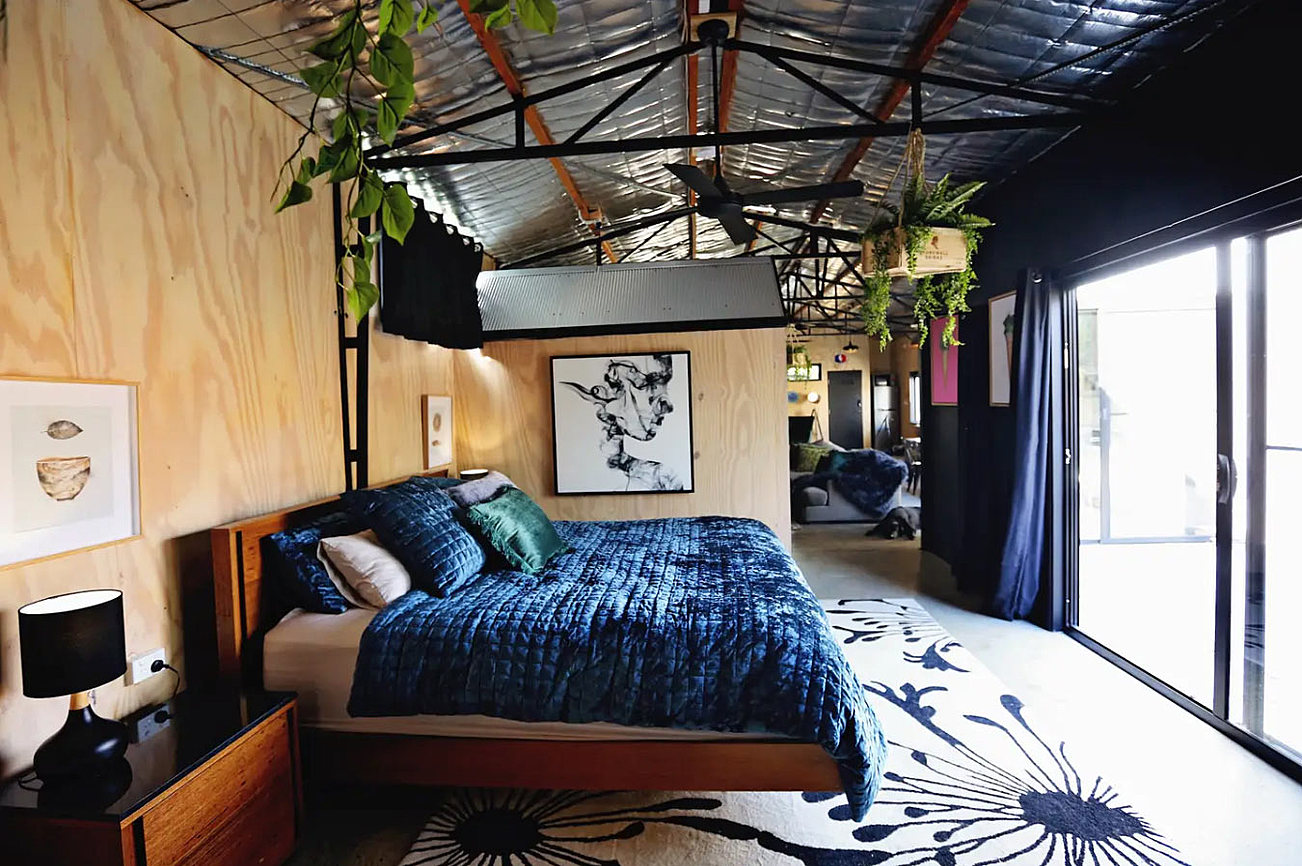 Travis Yarra Valley Guide - The Converted Loft in The Shed via Riparide