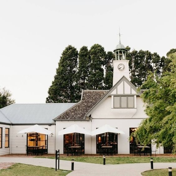Travis Yarra Valley Guide - The Restored Motor House and Clock Tower in Coombe